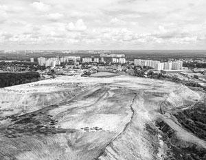 Свалка принимала до 90% всех коммунальных отходов Москвы
