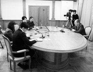 Сергей Лавров дал интервью белорусским журналистам