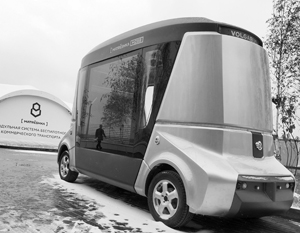 Первый беспилотный автобус MatrЁшка решили запустить на Дальнем Востоке