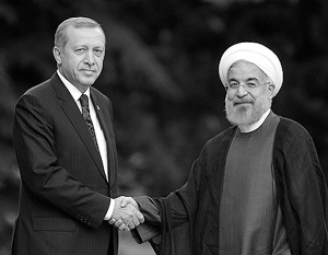 Президенты Турции и Ирана Эрдоган и Роухани ободрили Катар, оказавшийся в ссоре с арабскими соседями. Но о союзе Турции, Катара и Ирана говорить преждевременно