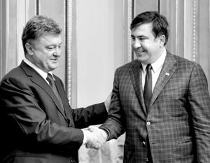 Президент Грузии не будет просить Порошенко выдать Саакашвили