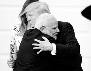 СМИ: Трамп оказался не готов к «медвежьим объятиям» премьера Индии