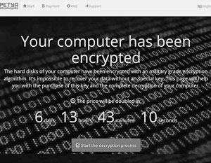 Вирус-вымогатель Petya атаковал компьютеры по всему миру