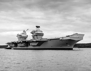 У британского авианосца радиус поражения никак не меньше 700–1000 км, отмечают эксперты