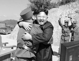 Радость маршала Ким Чен Ына безгранична