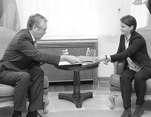 Брнабич представила российскому послу в Белграде стенограмму интервью