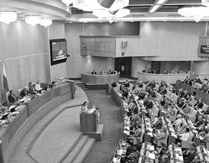 Заседание Госдумы прекратили из-за протечки крыши