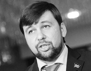 Полпред ДНР: Вопрос о Малороссии - лишь идея