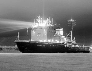 В России разработана лазерная установка для более быстрого продвижения ледоколов в сложных ледовых условиях
