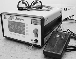 В Снеженском ядерном центре разработали тулиевый лазер для медицины