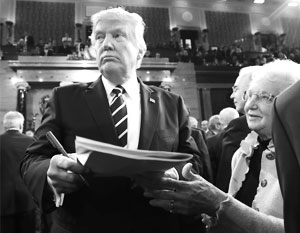 Дональд Трамп подпишет принятый Конгрессом закон о санкциях