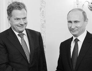 Президент Финляндии назвал темы предстоящих переговоров с Путиным