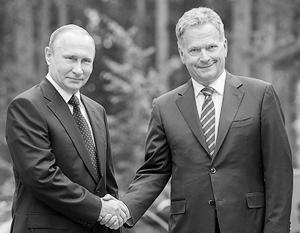 Политика: Россия и Финляндия подтвердили особые отношения друг с другом