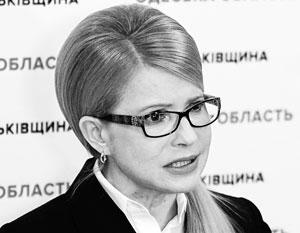 Тимошенко назвала расправой решение Порошенко лишить Саакашвили гражданства