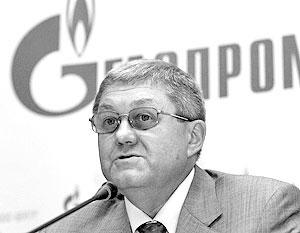 Зампред правления «Газпрома» Александр Ананенков