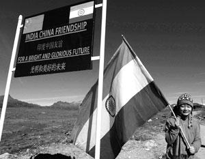 Китайско-индийская граница проходит по высокогорью