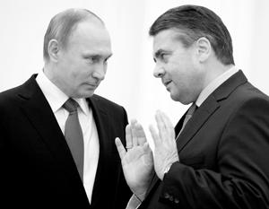 Зигмар Габриэль хочет восстановления отношений между Россией и Германией