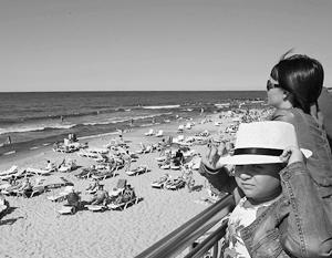 На прибалтийских курортах ожидают, что бархатный сезон сгладит спад отдыхающих