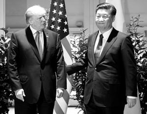 Трамп пытается давить на Си Цзиньпина самыми разными способами