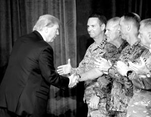 «Мы проигрываем эту войну», – не так давно говорил Трамп, встречаясь с участниками афганской кампании