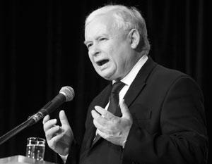Лидер польской правящей партии Ярослав Качиньский жалуется, что страна так и не получила компенсации за гигантский военный ущерб