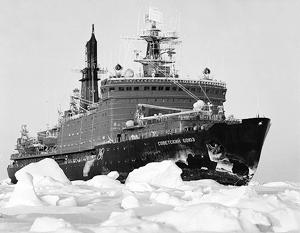 Санкции похоронили продление жизни тридцатилетнему ледоколу «Советский Союз»