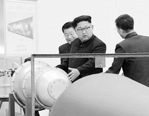 Лидер КНДР Ким Чен Ын с гордостью заявляет, что все компоненты испытанной боеголовки на 100% произведены в Северной Корее