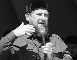 Рамзан Кадыров на митинге в Грозном 4 сентября 2017 года