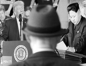 Трампа и Кима нужно усадить за стол переговоров