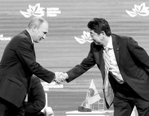 У Путина и Абэ хорошие личные отношения