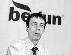 Генеральный директор компании «Бегун» Алексей Басов