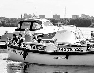 Столичная мэрия подготовила всю необходимую базу для запуска в Москве водного такси