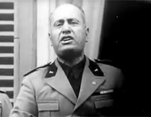 Дуче Муссолини отличался самовлюбленностью. Похожее, и редкое для современных политиков, качество Анатолий Шарий отмечает у Алексея Навального