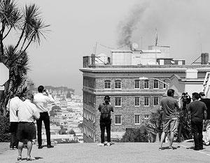 Управление по контролю за качеством воздуха Сан-Франциско решило оштрафовать российское консульство за черный дым