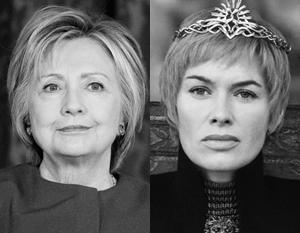 Серсея, с которой опрометчиво сравнила себя Клинтон, вовсе не несчастная жертва религиозных фанатиков