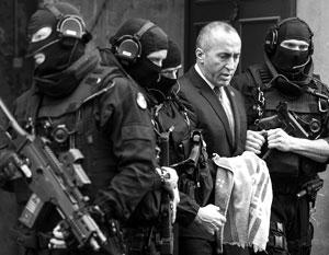 Рамуша Харадиная считают одним из самых опасных людей на Балканах