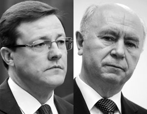 В русле тренда на омоложение региональной элиты 47-летний Дмитрий Азаров (слева) сменил 66-летнего Николая Меркушкина