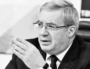 Появились сообщения о том, что заявление губернатора Красноярского края Виктора Толоконского об отставке поступило на рассмотрение в Кремль