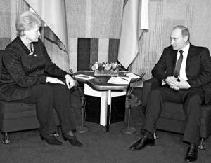 Политика: Слова литовского дипломата о разговоре с Путиным доказывают слабость Грибаускайте