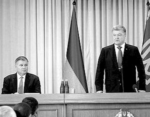 Авакова давно подозревают в попытке свергнуть Порошенко