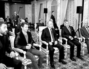 Путин встретился с создателями фильма о космической станции «Салют-7»
