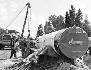 Газпрому, оказывается, мало и двух новых строящихся газопроводов в Европу