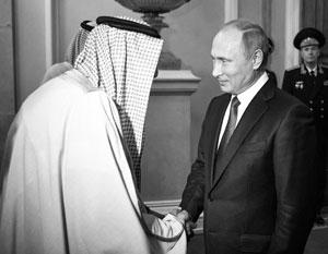О сумме возможной сделки было объявлено по итогам переговоров президента РФ и короля СА