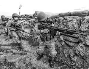 На некоторых участках фронта исламисты предприняли успешные попытки контрнаступления