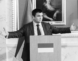 Павел Климкин пытается защитить Украину от поджигателей «сепаратизма», грозящих ей теперь уже с Запада