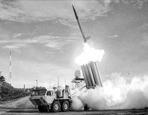 Огневые средства ПРО США, по словам российского Минобороны, включают в себя 150 противоракет комплексов Thaad