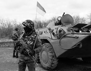 Из неспособности наступать на ДНР украинские военные все равно пытаются извлечь выгоду