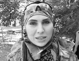 Воевавшая в Донбассе на стороне ВСУ Амина Окуева убита под Киевом