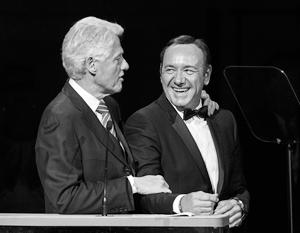 Кевина Спейси многое связывает с Биллом Клинтоном
