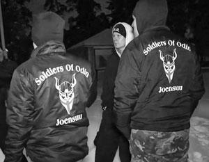 «Воины Одина» не только внушают страх мигрантам в Финляндии, но и активно гастролируют по Прибалтике